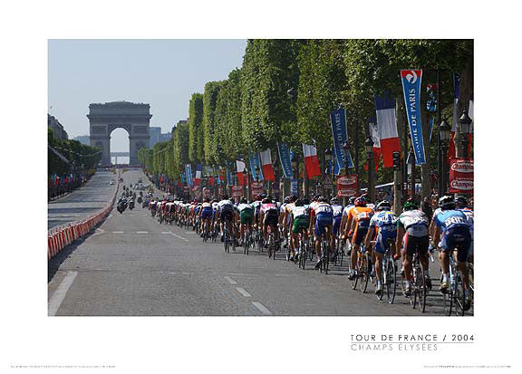"Tour de France ""Champs Elysees"" (2004) Premium Poster Print - Graham Watson"