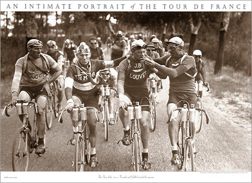 "Vintage Tour de France ""Smokers"" (1920s Cycling) Poster - Presse 'e Sports"