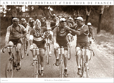 "Vintage Tour de France ""Smokers"" 1920s Cycling Classic Poster - Presse 'e Sports"