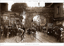 "Vintage Classics of the Tour de France ""Gates of Verdun"" (1922) Cycling Poster Print - Presse 'e Sport"