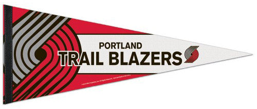 Portland Trail Blazers Official NBA Basketball Premium Felt Collector's Pennant - Wincraft