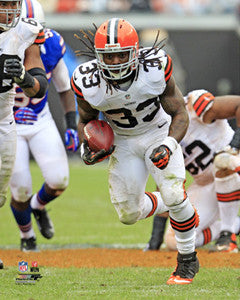 "Trent Richardson ""Breakout"" (2012) Cleveland Browns Poster Print - Photofile 16x20"