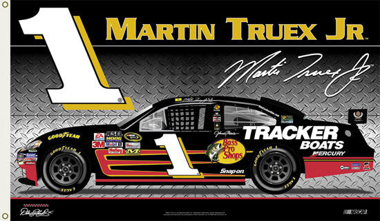 "Martin Truex Jr. ""Truex Nation"" 3'x5' Flag (2008)"