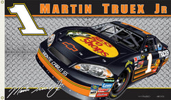 "Martin Truex Jr. ""Truex Nation"" 3'x5' Flag (2007 Version)"