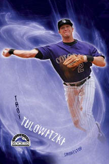 "Troy Tulowitzki ""Tulo"" Colorado Rockies Poster - Costacos 2008"