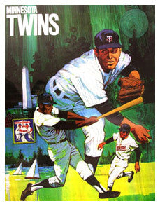 Minnesota Twins Classic Theme Art - ProMotions 1971