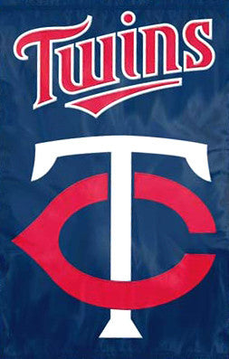 Minnesota Twins Official Team Applique Banner - Party Animal