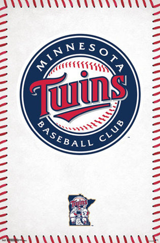Minnesota Twins Official MLB Baseball Team Logo Poster - Trends International