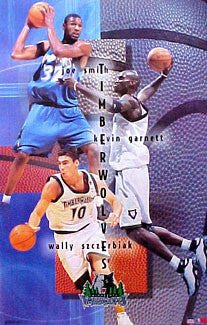 "Minnesota Timberwolves ""Triple Action"" - Starline 2001"
