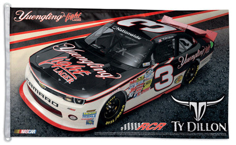 Ty Dillon NASCAR Yuengling #3 Official HUGE 3'x5' Commemorative Flag - Wincraft