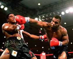 "Mike Tyson ""Vicious Cross"" (vs. Trevor Berbick 11/22/1986) Premium Poster Print - Photofile"