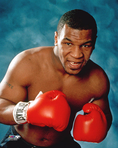 "Mike Tyson ""Kid Dynamite"" (c.1987) Boxing Portrait Premium Poster Print - Photofile"