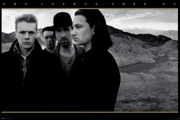 U2 The Joshua Tree Album Cover Art Poster - Aquarius Inc.