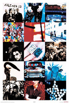U2 Achtung Baby Album Cover Art Poster - Aquarius Inc.