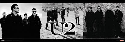 "U2 ""Triptych"" Music Poster - Funky Enterprises Inc."