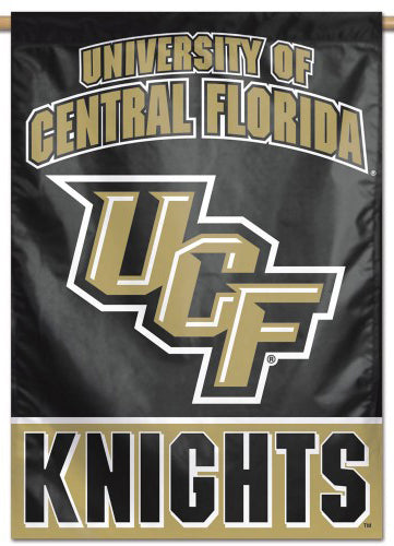 UCF University of Central Florida Knights Official NCAA Premium 28x40 Wall Banner - Wincraft Inc.