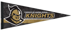 University of Central Florida Knights Official NCAA Team Logo Premium Felt Collector's Pennant - Wincraft Inc.