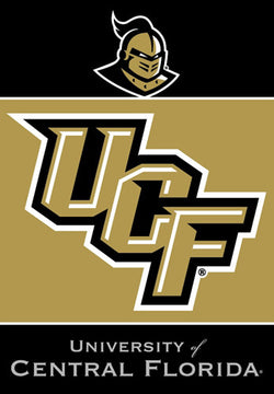 University of Central Florida Knights 28x40 NCAA Premium Team Banner - BSI Products