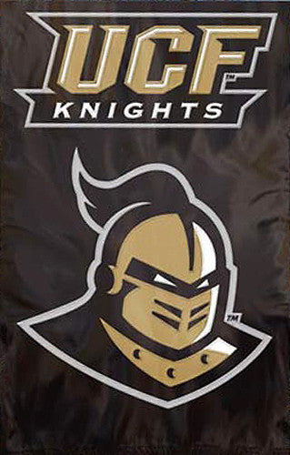 Unversity of Central Florida Knights Premium Applique Team Banner Flag - Party Animal