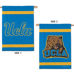 UCLA Bruins Official NCAA Sports 2-Sided Vertical Flag Wall Banner - Wincraft Inc.