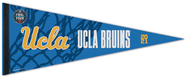 UCLA Bruins Basketball Final Four 2021 Premium Felt Pennant - Wincraft