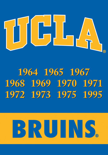 UCLA Bruins Championship Years Banner - BSI Products