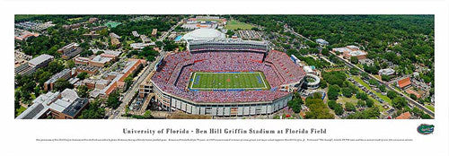 Florida Gators Football Gameday Aerial Panorama - Blakeway 2008