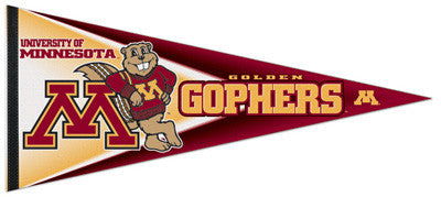 Minnesota Golden Gophers EXTRA-LARGE Premium Felt Pennant