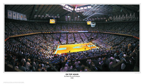 "North Carolina Basketball ""On Top Again"" (Dean Smith Center)"