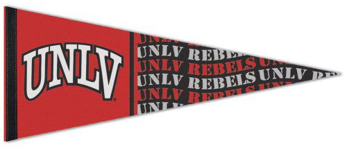 UNLV University of Nevada-Las Vegas Official NCAA Team Logo Premium Felt Collector's Pennant - Wincraft Inc.