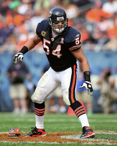 "Brian Urlacher ""Prowler"" Chicago Bears Poster Print - Photofile 16x20"