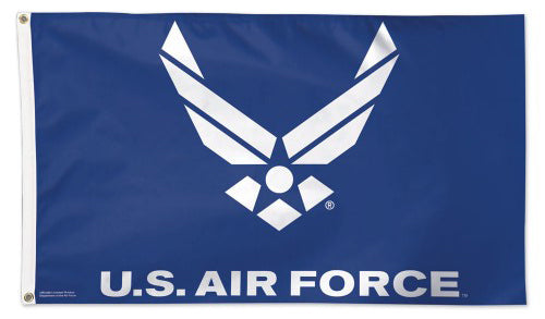 United States Air Force Official American Military Emblem Logo DELUXE FLAG - Wincraft Inc.