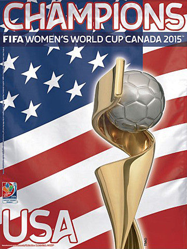 Team USA FIFA Women's World Cup 2015 Champions Banner - Wincraft Inc.