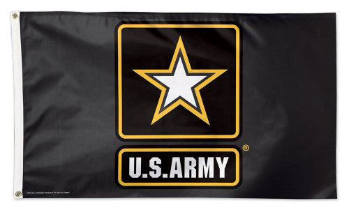 United States Army Official American Military Emblem Logo DELUXE FLAG - Wincraft Inc.
