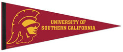 USC Trojans Official NCAA Team Premium Felt Collector's Pennant - Wincraft Inc.