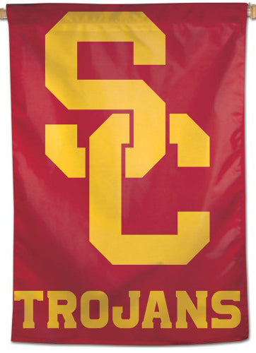 USC Southern California SC-Style Official NCAA Team Logo NCAA Premium 28x40 Wall Banner - Wincraft Inc.