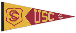 USC Trojans NCAA Vintage Collection 1950s-Style Premium Felt Collector's Pennant - Wincraft Inc.