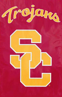 "USC Trojans ""SC"" Official Team Banner - Party Animal Inc."