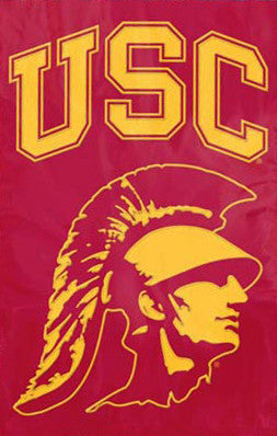 "USC Trojans ""Trojan Head"" Official Team Banner - Party Animal"