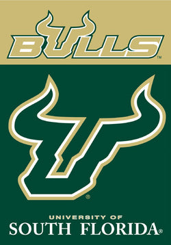 University of South Florida Bulls Official 28x40 NCAA Premium Team Banner - BSI Products