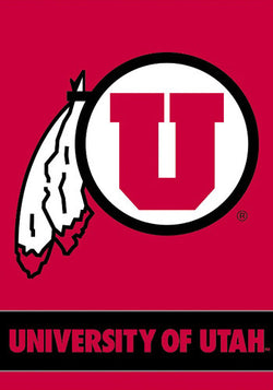 Utah Utes Official 28x40 NCAA Premium Team Banner - BSI Products