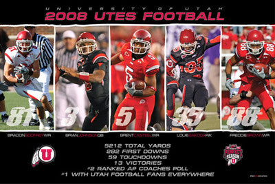 "Utah Football 2008 ""By the Numbers"" - ProGraphs LLC"