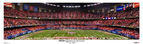 Sugar Bowl 2009 (Utah vs. Alabama) Panorama - USA Sports Inc.