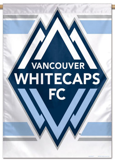 Vancouver Whitecaps FC Official MLS Soccer Team Logo Wall BANNER - Wincraft Inc.