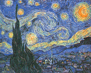 The Starry Night (1889) by Vincent Van Gogh 16x20 Art Print - Eurographics