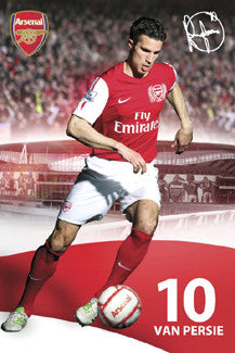 "Robin Van Persie ""Signature"" Arsenal FC Poster - GB Eye 2011"