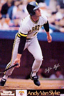 "Andy Van Slyke ""Signature"" - Marketcom/S.I. 1989"