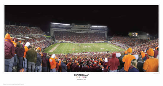 "Virginia Tech Football ""Beamerball"" - Sport Photos Inc. 2007"