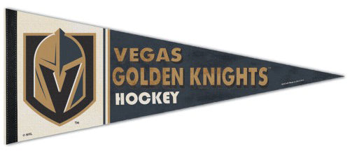 Vegas Golden Knights NHL Vintage Hockey Collection Premium Felt Collector's Pennant - Wincraft