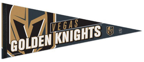 Vegas Golden Knights Official NHL Hockey Logo-Style Premium Felt Collector's Pennant - Wincraft